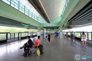 Buona Vista MRT Station - EWL Platform level (L4)