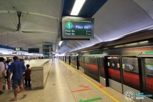 Paya Lebar MRT Station - EWL Platform A