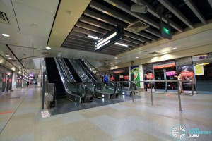 Serangoon MRT Station - NEL Platform level