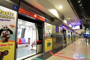HarbourFront MRT Station - NEL Platform B