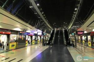 HarbourFront MRT Station - NEL Platform level