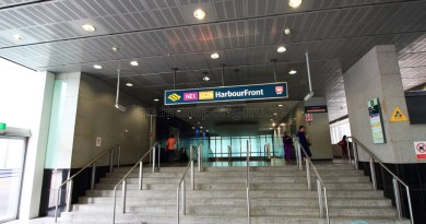 HarbourFront MRT Station - Exit B