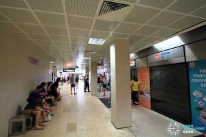 Bishan MRT Station - NSL Platform B scene