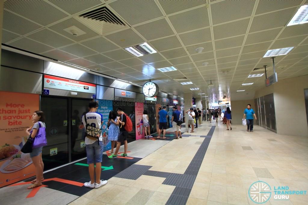 Bishan MRT Station - NSL Platform B, built in 2008