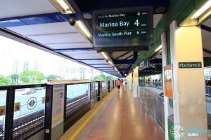 Choa Chu Kang MRT/LRT Station - NSL Platform B