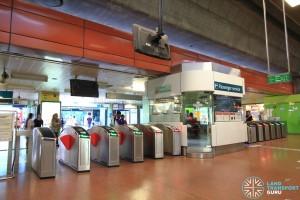 Choa Chu Kang MRT/LRT Station - NSL Passenger Service Centre & Faregates