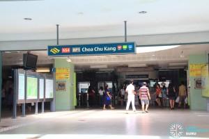 Choa Chu Kang MRT/LRT Station - Exit A
