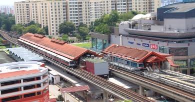 Choa Chu Kang MRT/LRT Station - Aerial view