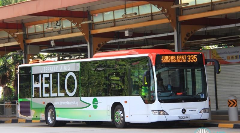 Tower Transit Mercedes-Benz Citaro (SG1007M) - Service 335