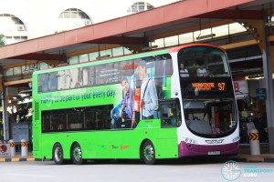 Tower Transit Volvo B9TL Wright (SBS3340A) - Service 97