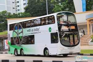 Tower Transit Volvo B9TL Wright (SG5001C) - Service 66A