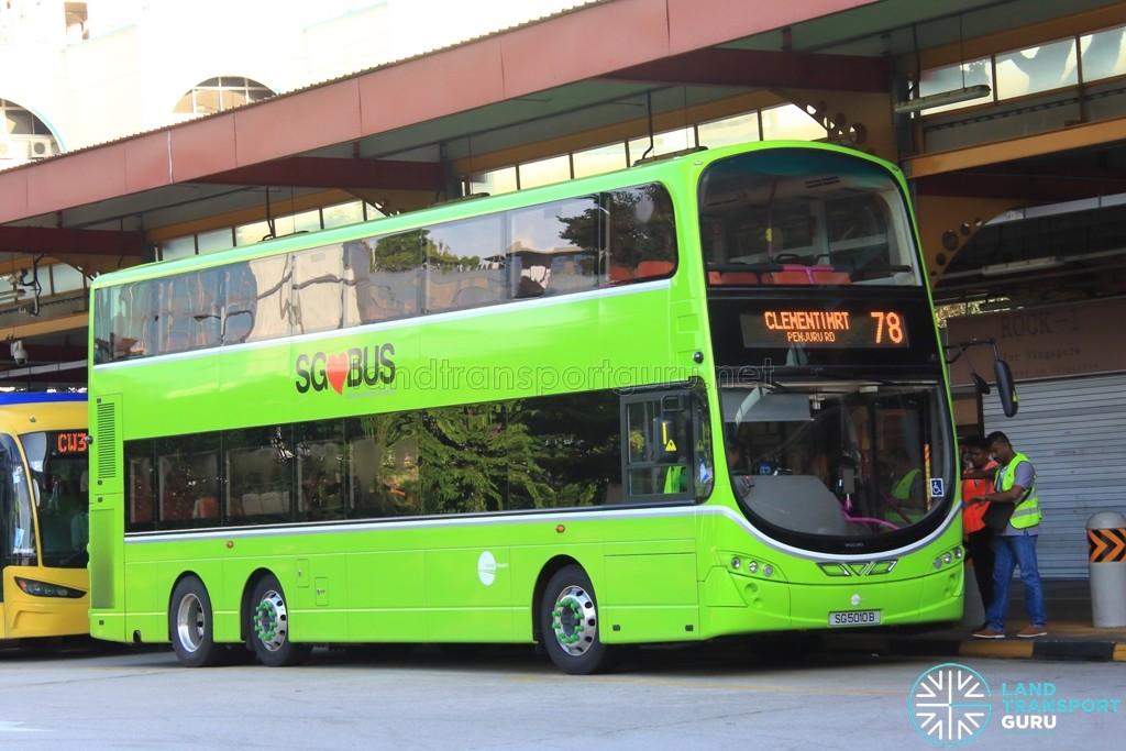Tower Transit Volvo B9TL (SG5010B) - Service 78
