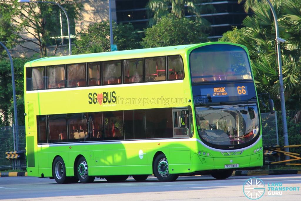Tower Transit Bus Service 66   Land Transport Guru