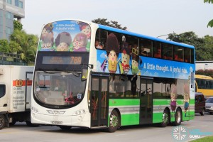 Tower Transit Volvo B9TL Wright (SG5026G) - Service 78A