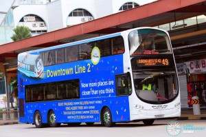 Tower Transit Volvo B9TL Wright (SG5029Z) - Service 49
