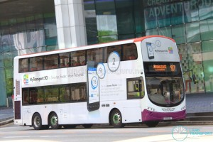 Tower Transit Volvo B9TL Wright (SG5038Y) - Service 97