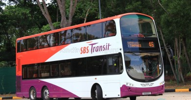 SBST Volvo B9TL Wright (SG5551G) - Service 46