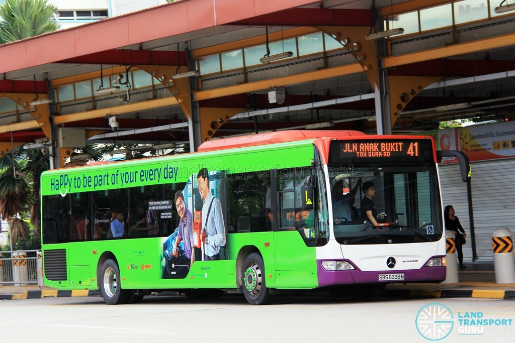 Tower Transit Mercedes-Benz Citaro (SBS6338M) - Service 41
