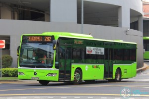 SBS6355M on 282 - Tower Transit Mercedes-Benz Citaro
