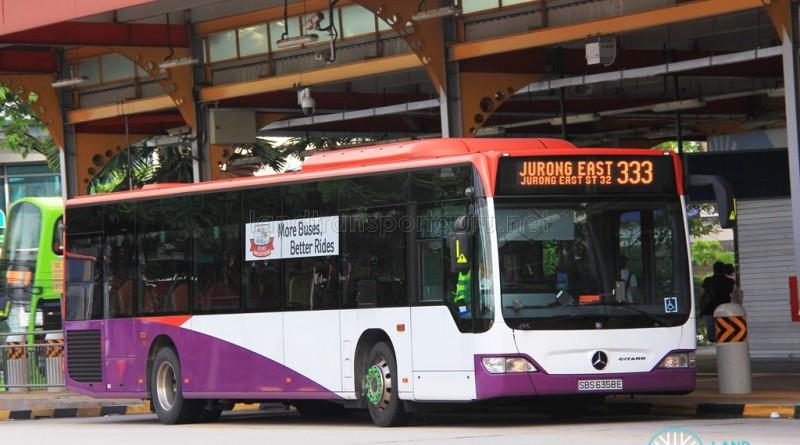 Tower Transit Mercedes-Benz Citaro (SBS6358E ) - Service 333