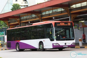 Tower Transit Mercedes-Benz O530 Citaro (SBS6373C) on Service 66