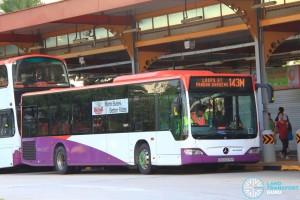 Tower Transit Mercedes-Benz Citaro (SBS6378Y) - Service 143M