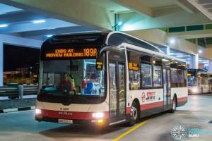 SMRT MAN A22 (SMB3063J) - Service 189A