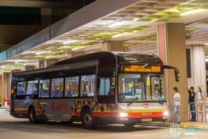 SMRT Buses MAN A22 (SMB1640J) - Service 189A
