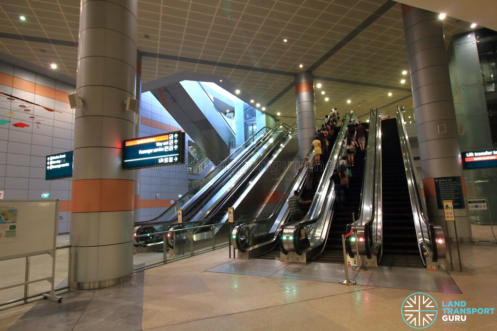 City Hall MRT Station | Land Transport Guru