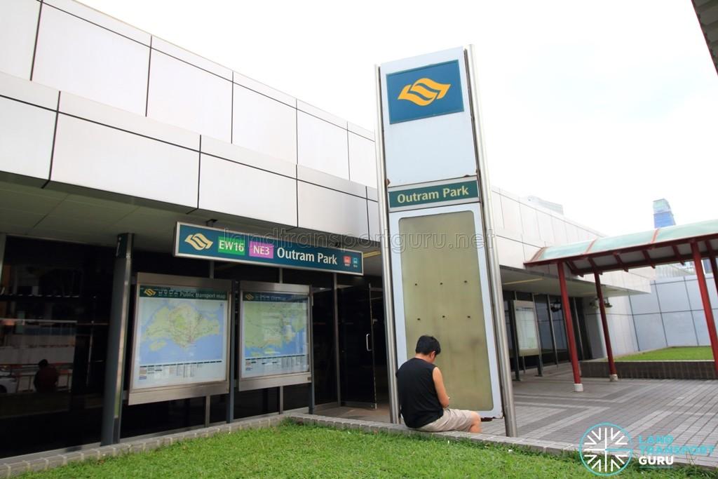 Outram Park MRT Station - Exit C