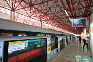 Jurong East MRT Station - EWL Platform C