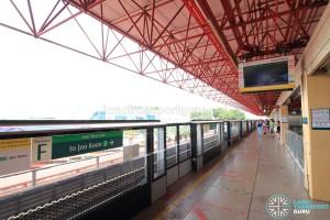Jurong East MRT Station - EWL Platform F