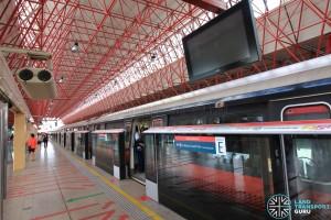 Jurong East MRT Station - NSL Platform E