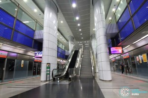 Potong Pasir MRT Station - Platform level