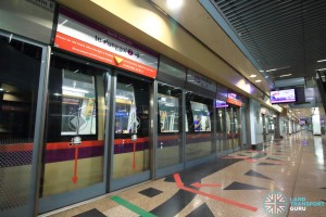 Woodleigh MRT Station - Platform B