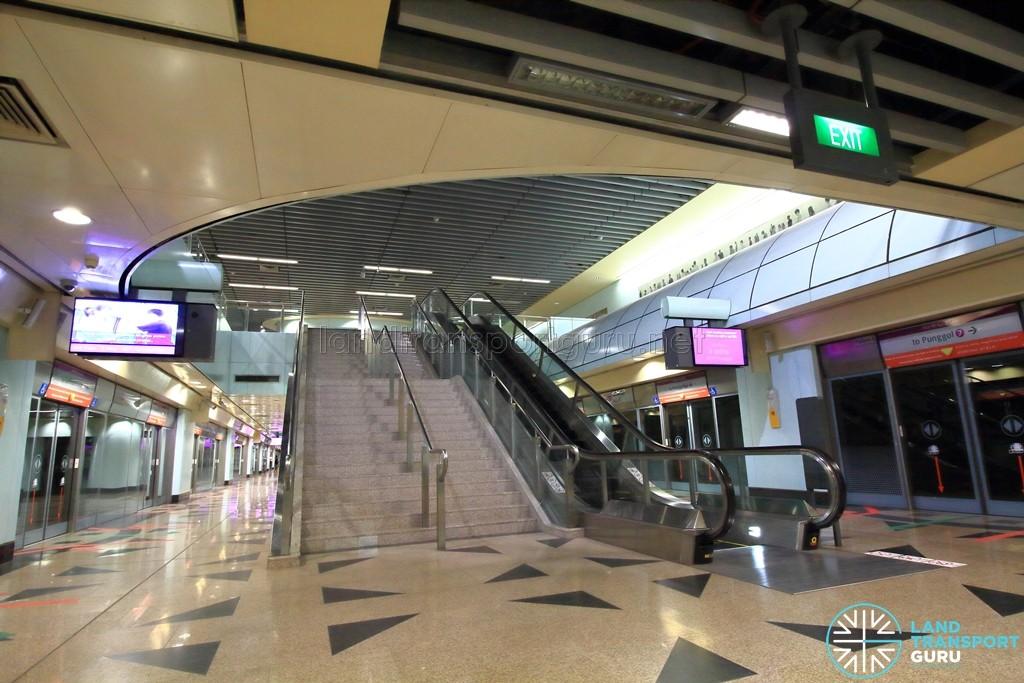 Woodleigh MRT Station - Platform level