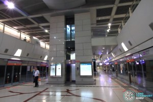 Kovan MRT Station - Platform level