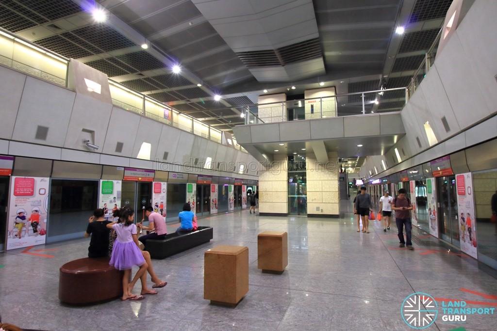 Hougang MRT Station - Platform level