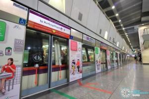 Hougang MRT Station - Platform A