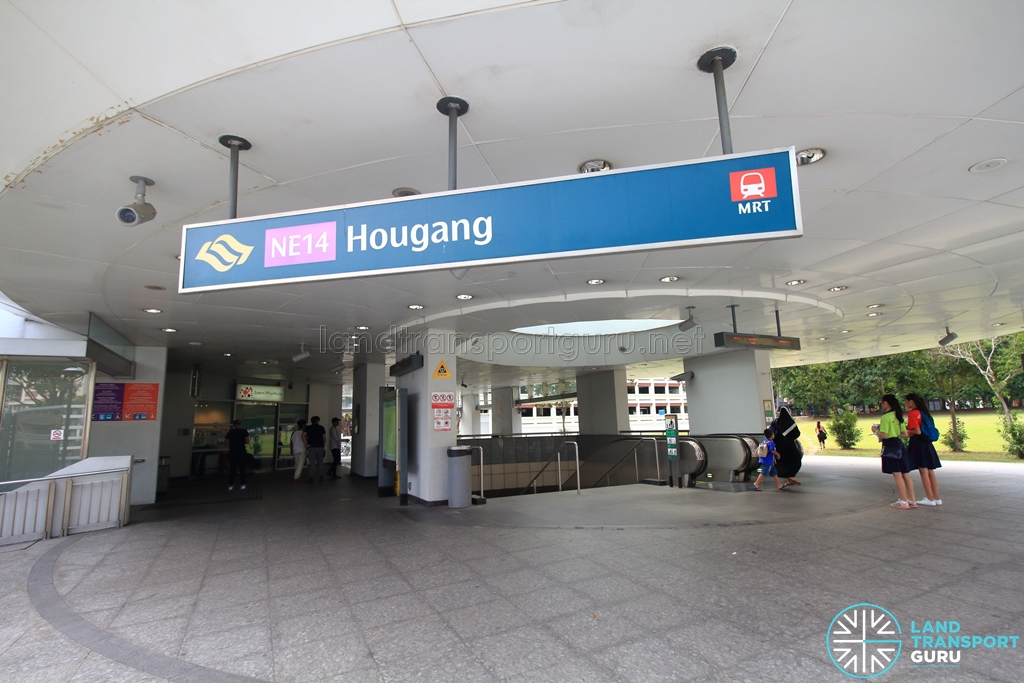 Hougang MRT Station - Exit B