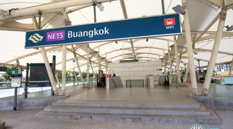 Buangkok MRT Station - Exit A