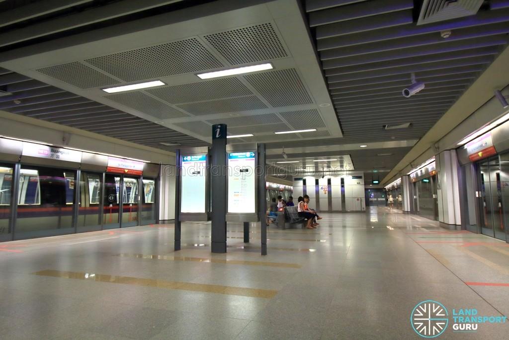 Buangkok MRT Station - Platform level