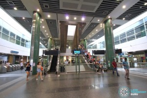 Sengkang MRT/LRT Station - Ground Floor concourse