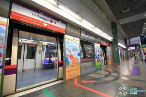 Sengkang MRT/LRT Station - NEL Platform B