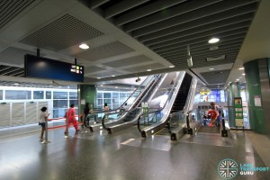 Sengkang MRT/LRT Station - 2nd Floor concourse