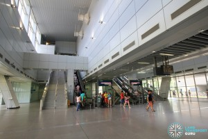 Punggol MRT/LRT Station - North Concourse level (Paid area)