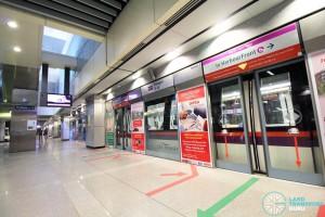Punggol MRT/LRT Station - NEL Platform A