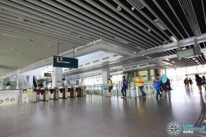 Punggol MRT/LRT Station - South concourse (Unpaid area)