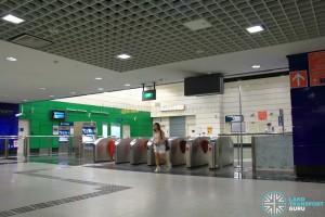 Outram Park MRT Station - NEL Faregates (Exits E, H)
