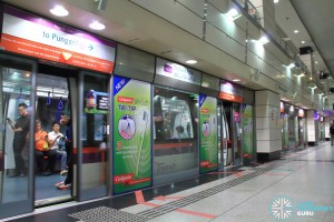 Outram Park MRT Station - NEL Platform B